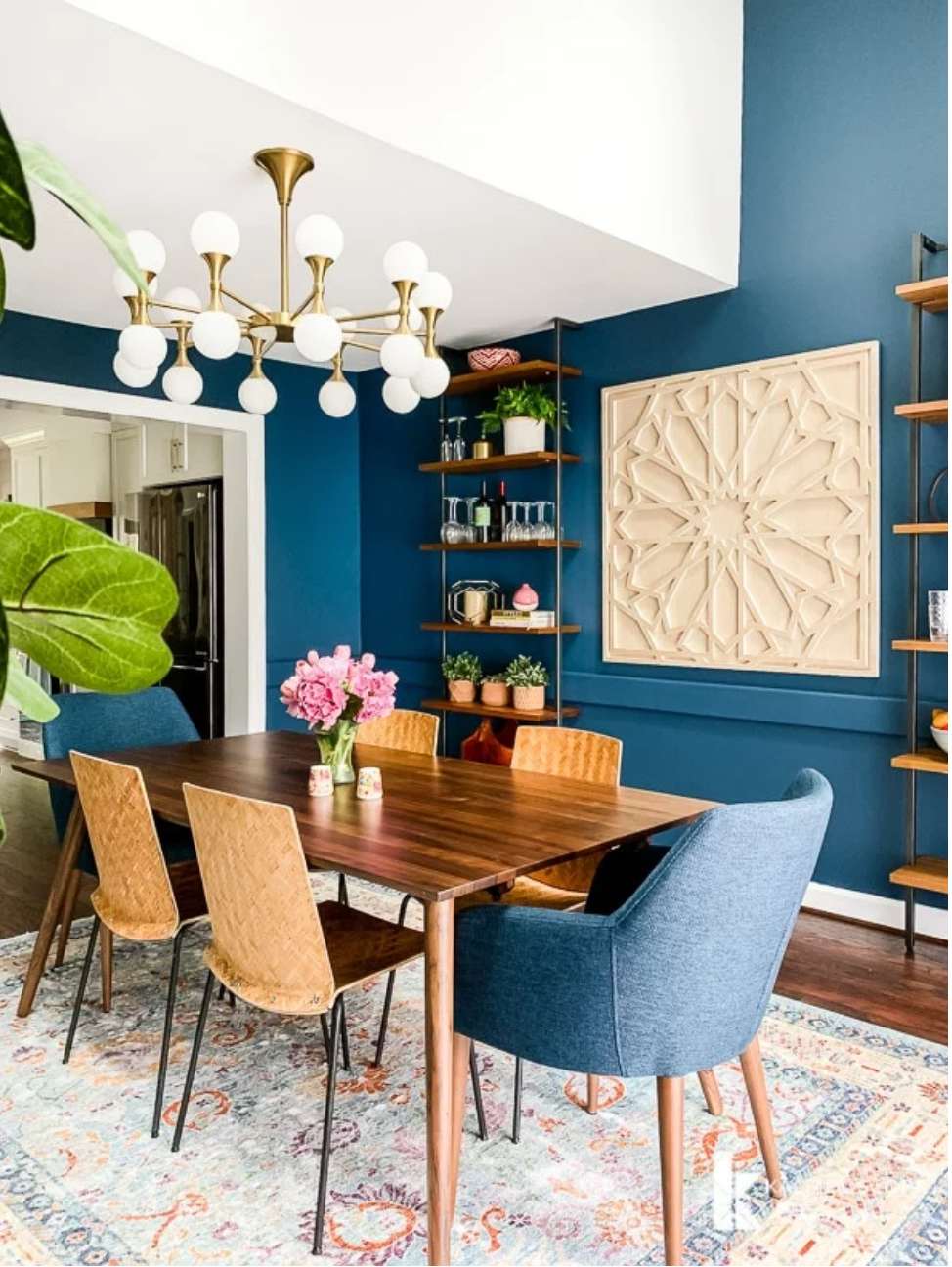 dining room with lots of style