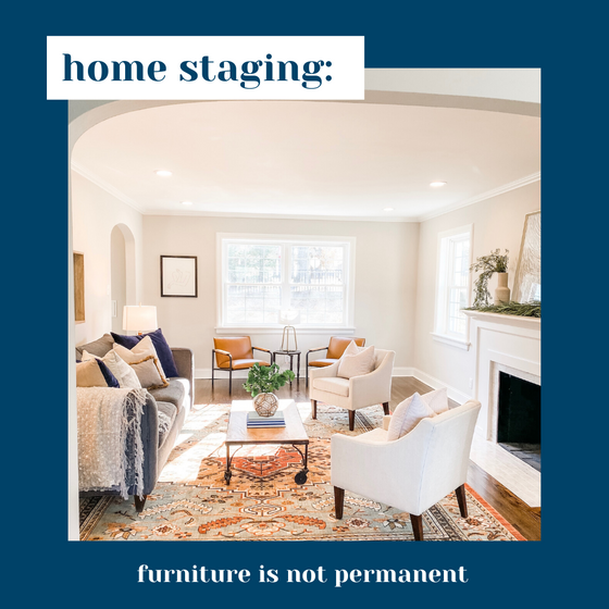 The differences between interior design and home staging