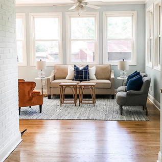 University City Sunroom - Home Staging