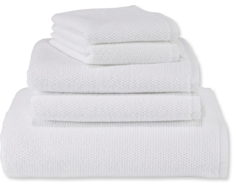 L.L. Bean Organic Textured Towels, from $!2