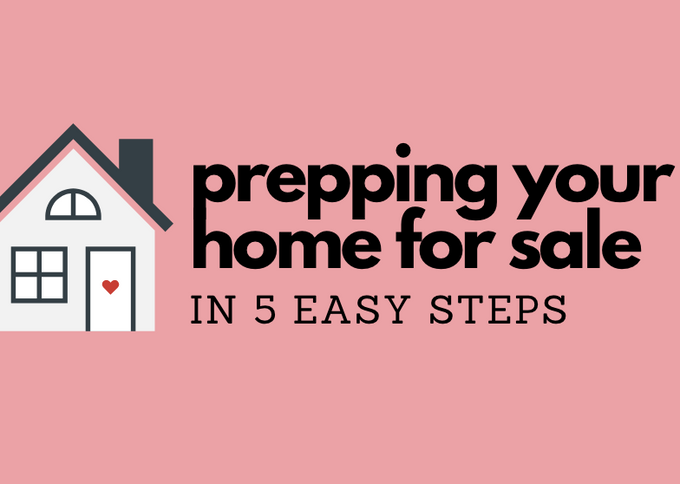 How does a Home Stager prep her home for sale?