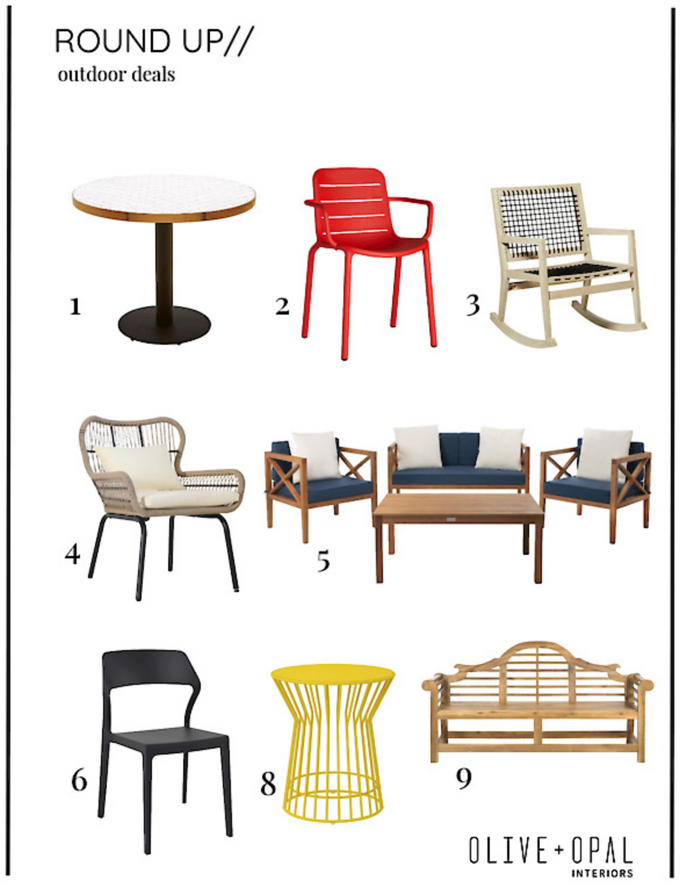 Labor Day Sales - Outdoor Furniture