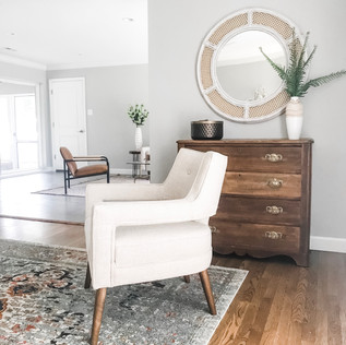 Living Room - Home Staging Services In St. Louis