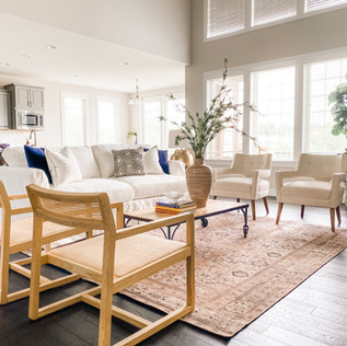 St. Louis Home Staging by Olive & Opal Interiors