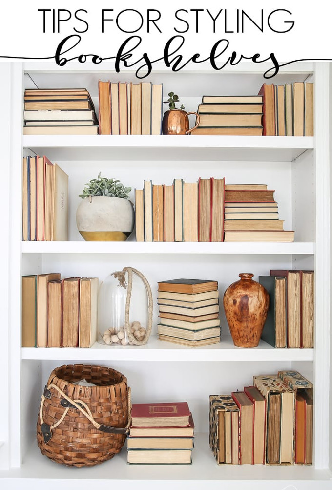 Pro Decor Tip: Styling with Books