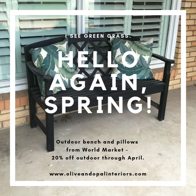 World Market to the (front porch) rescue