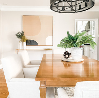 Ladue Home Staging by Olive & Opal Interiors
