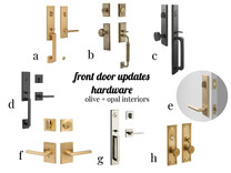 Time to upgrade your front door hardware!