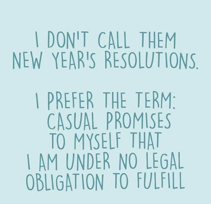 Anna's 2020 Resolutions