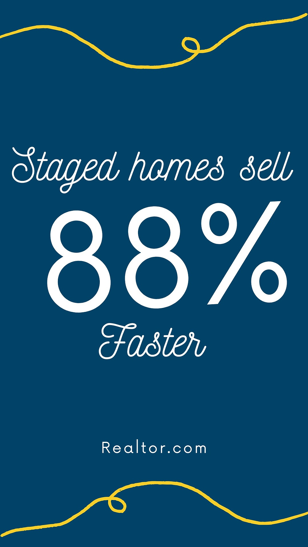 faster sell staged home