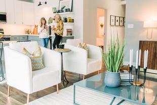 Loft apartment, open concept