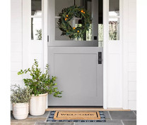 Easy ways to add color to your front porch!