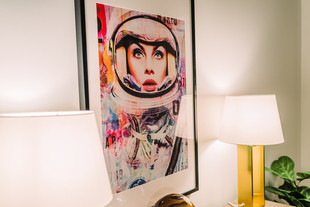 Large scale office art