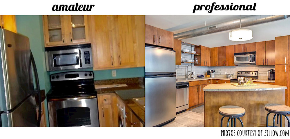 amateur versus professional real estate photo