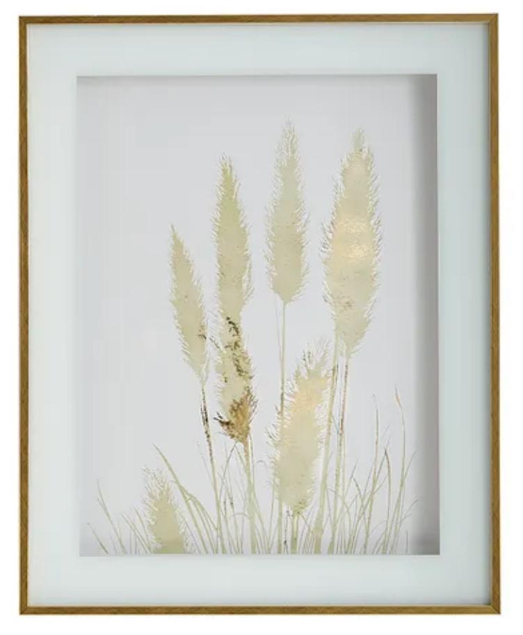 Golden framed art pier 1