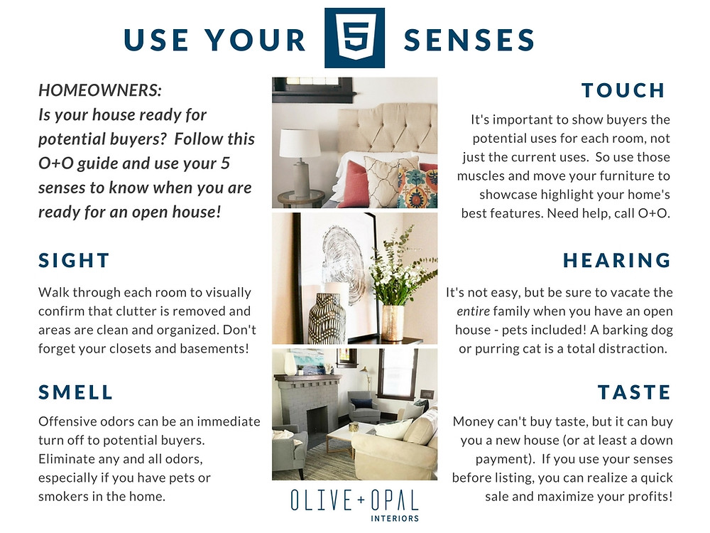 Follow these home staging tips to determine whether or not your are ready for an open house.