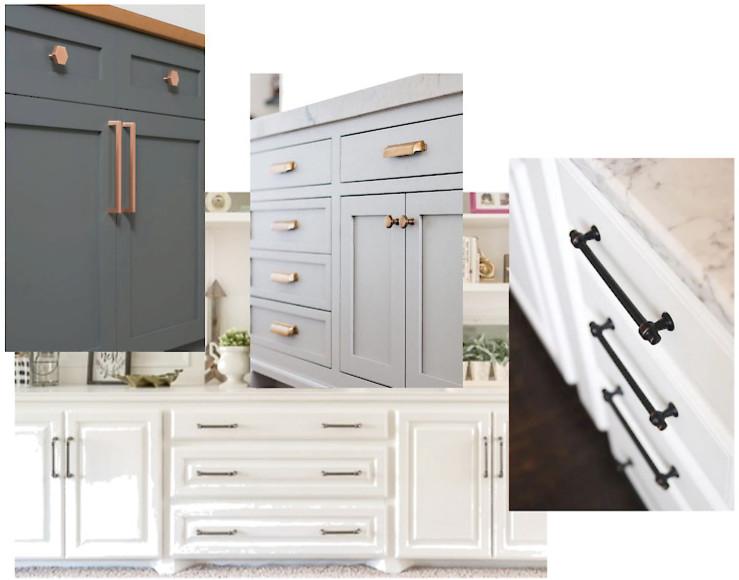 cabinet hardware upgraded