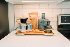 Kitchen coffee tray