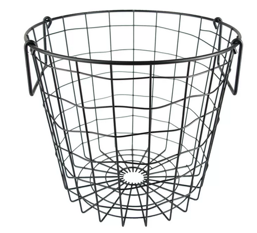 Round Metal basket Wayfair