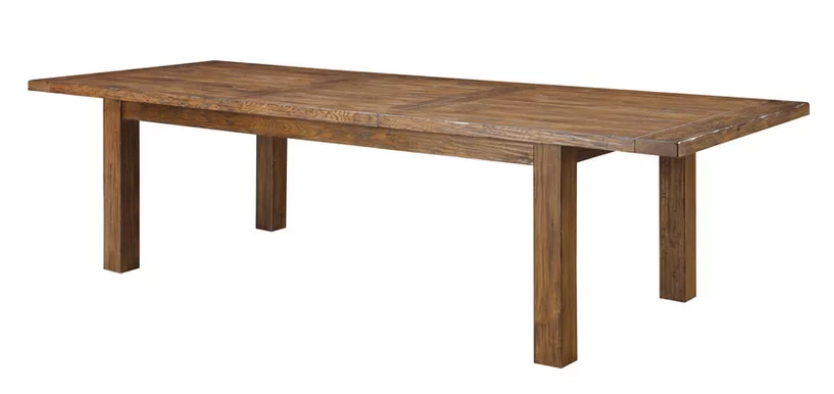 wooden rectangle table Birch Lane