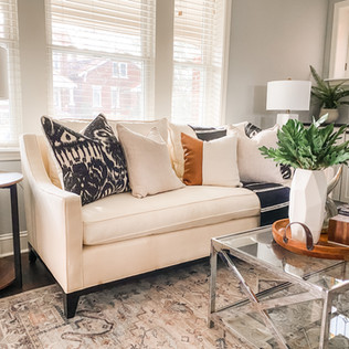Clayton Home Staging by Olive & Opal Interiors