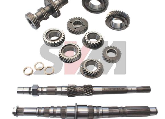 Forged Gear Set 1-6 + Output Shaft - NISSAN R35 GTR