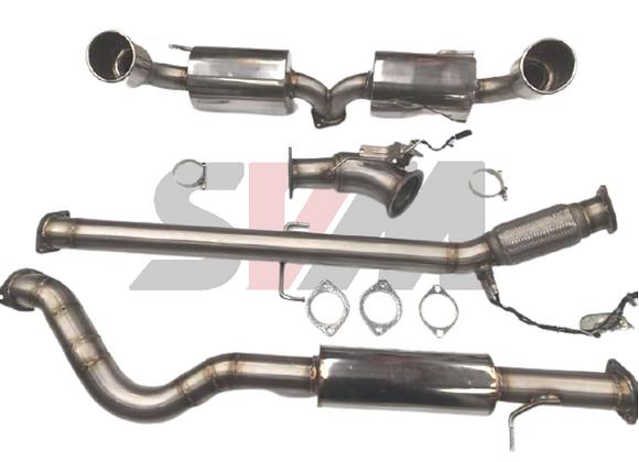 SVM 380 Turbo Back Sport+ Performance Exhaust System - Toyota Yaris GR