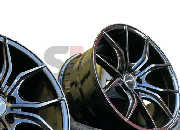PS GTX 18X9 Alloy Wheels - ToyotaYaris GR