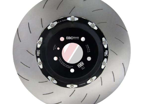 EBC Racing 2 Piece Racing Front Discs - Nissan R35 GTR