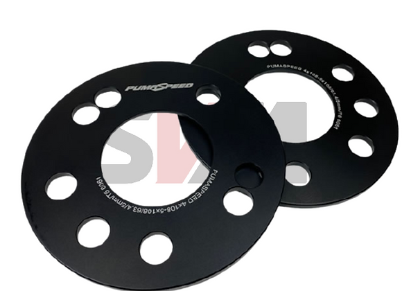 PS Racing 5MM 5X108 Ford Wheel Spacer - Ford Focus RS MK3