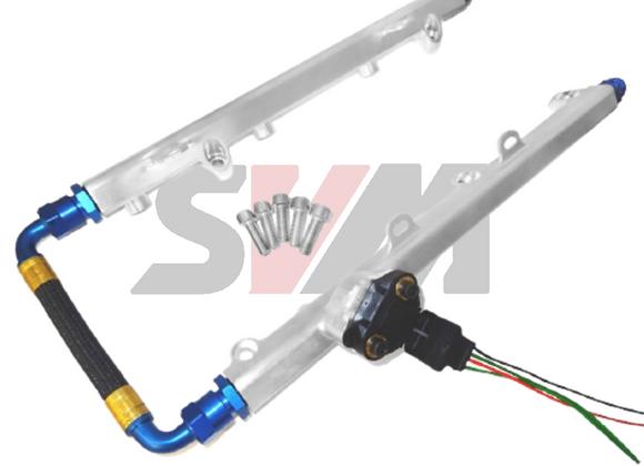 Fuel Rail kit with fuel pressure sensor - Nissan R35 GTR