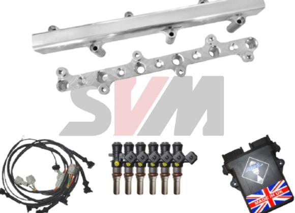 Asnu 12 Injector Conversion Kit - Nissan R35 GTR