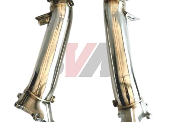Billet Steel90-76MM Downpipes