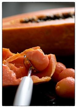 Papaya Scoops