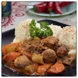 Beef Stew with Purée