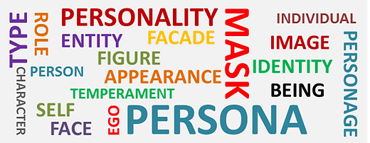 Persona Synonyms-Word Cloud