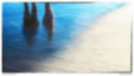 Reflections, Shore, tide, beach, Water an Sand