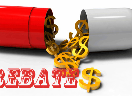 A rebate free environment? Not so fast… (90 second read)