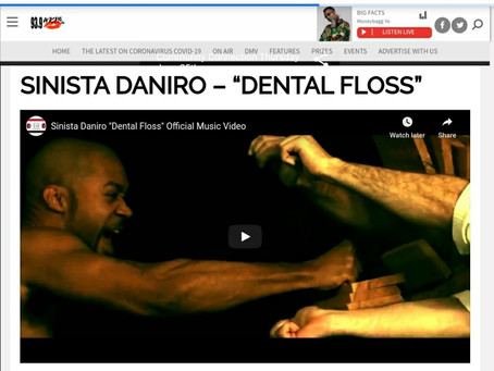SINISTA DANIRO FEATURED ON WKYS 93.9 FM DC