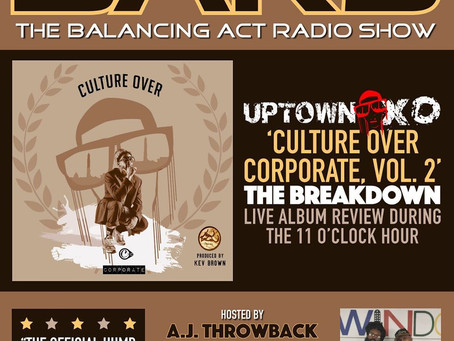 UPTOWN XO INTERVIEWS WITH BALANCING ACT RADIO SHOW