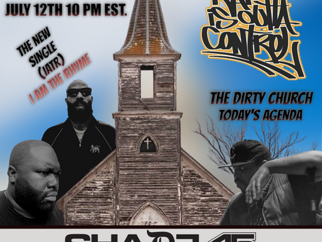 THE DIRTY CHURCH INVADES RAPISOUTTACONTROL SHADE45