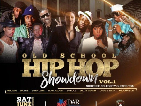 Nonchalant live at DAR Constitution Hall for Old School Hip Hop Showdown