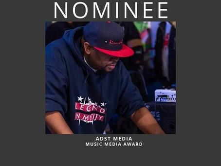 ADST MEDIA NOMINATED FOR BEST MUSIC MEDIA AWARD