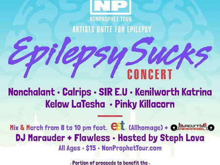 ADST Music joins Nonchalant for Epilepsy Sucks Concert