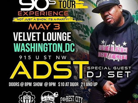 ADST Music Joins the Nu90s Tour Experience in DC