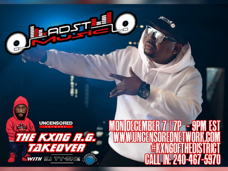 ADST MUSIC INTERVIEW 12.07.20 KXNG RG TAKEOVER