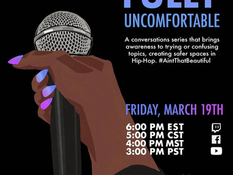CATCH PROWESS THE TESTAMENT HOSTING BEAUTIFULLY UNCOMFORTABLE AT 6PM EST. 03.19.21