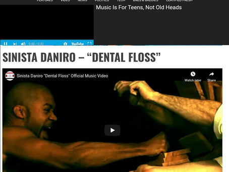 SINISTA DANIRO FEATURED IN HIP HOP WIRED