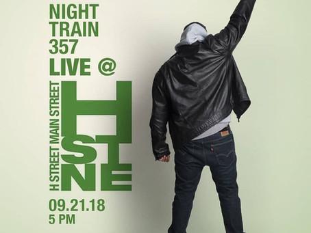 Night Train 357, DJ Teige & ADST Music rock the H. St. Festival