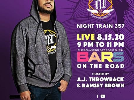 NIGHT TRAIN 357 BARS INYERVIEW